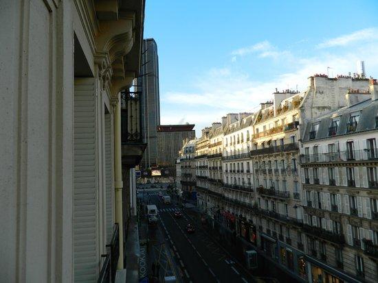 Legend Hotel by Elegancia : Vista desde la habitación