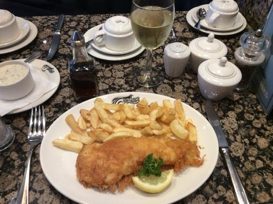 Trenchers: gorgeous small haddock and chips