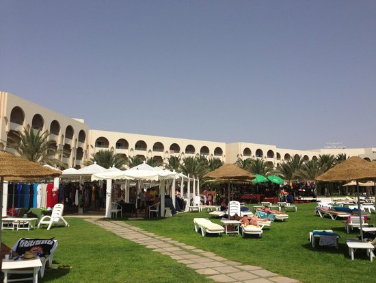 Iberostar Averroes: market day in the hotel - bargains to be had!