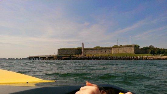 Boston Harbor Mini Speed Boats, Inc.: island