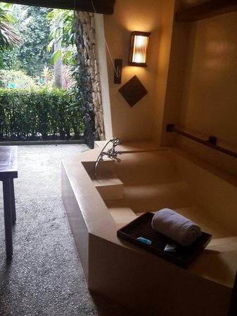 Hotel Novotel Bogor Golf Resort and Convention Center: Anak2 jadikan bathub slide