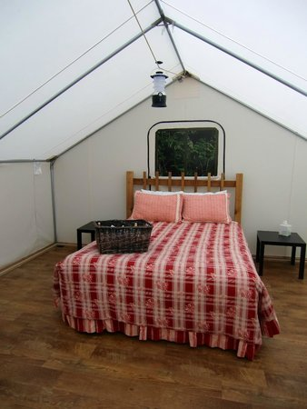 West Beach Resort: Tent/Cabin Bed