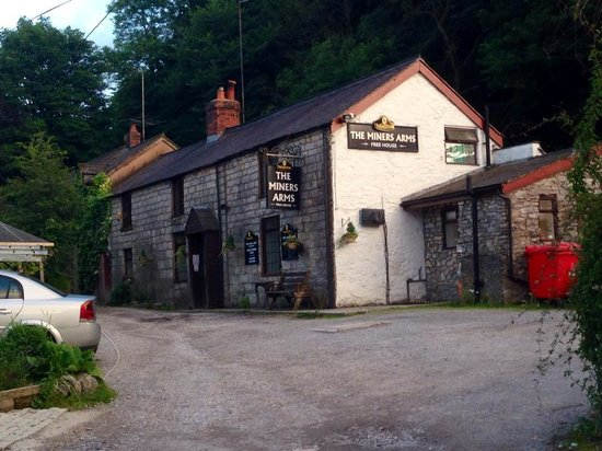 Glan Llyn Farm House: Can recommend the Minor's Arms for food