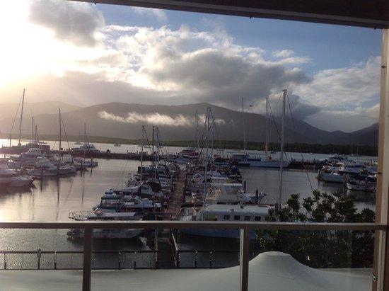 Shangri-La Hotel, The Marina, Cairns : Vue depuis la chambre