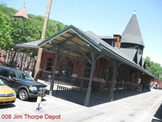 Lehigh Gorge Scenic Railway: Jim Thorpe Depot