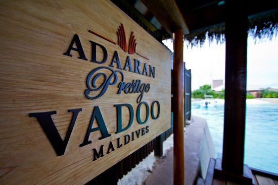Adaaran Prestige Vadoo: In front of the hotel
