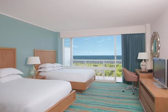 Hilton Curacao: RENOVATED 2 Double Beds Room