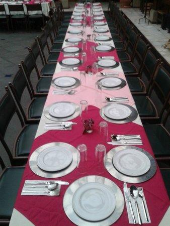 Casa de los Arcangeles: Restaurant