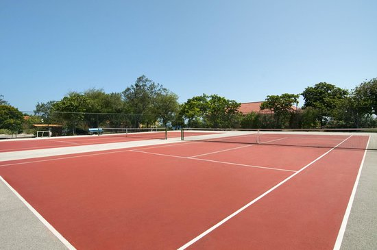 Hilton Curacao: Tennis Courts