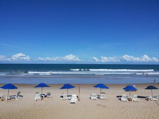 Prodigy Beach Resort Marupiara: Vista, área de lazer para o mar