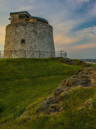 Carleton Martello Tower: Tower end of day.