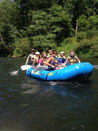 Nantahala Rafting with Adventurous Fast Rivers: RAFTING