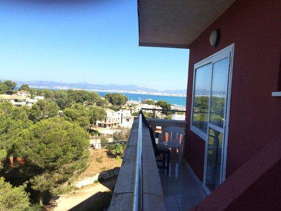 Hotel Luna & Luna Park : Sea view