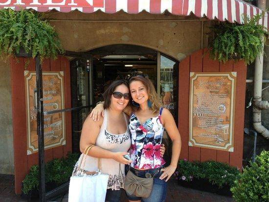 River Street Savannah: Loja de doces na River Street