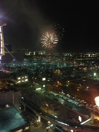 Bally's Las Vegas : View from my room on 20th floor...