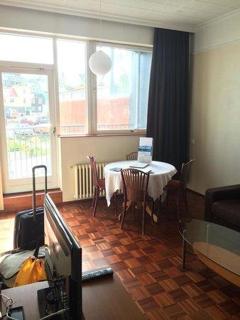 Fosshotel Baron : Sitting area