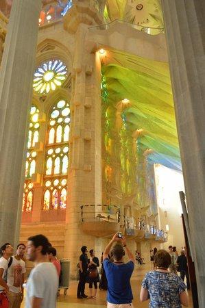 Sagrada Família: Inside