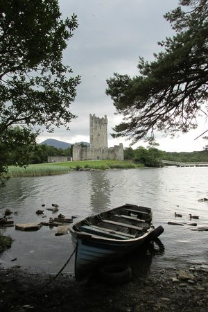 Ross Castle : View from across the lake