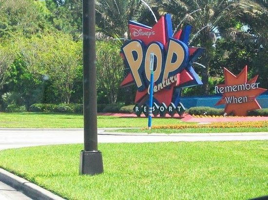 Disney's Pop Century Resort : entrada