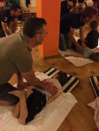 Family Hotel Primavera: prima un bel massaggio shatsu e poi...