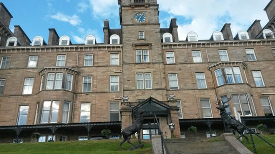 Doubletree by Hilton, Dunblane-Hydro: Hotel Front