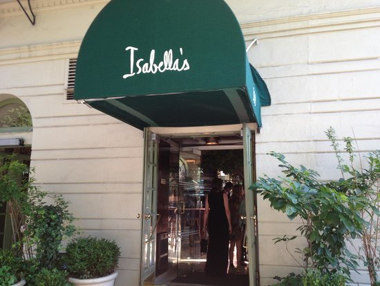 Isabella's: Entrance