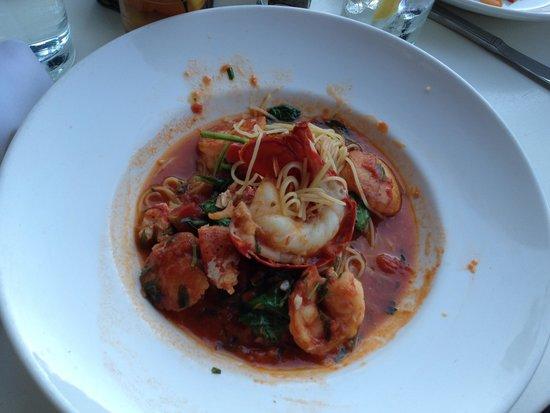 Isabella's: Seafood entree