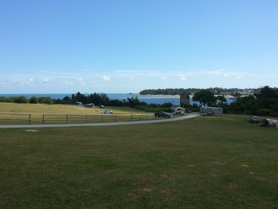 Nodes Point Holiday Park - Park Resorts: View from the tenting field