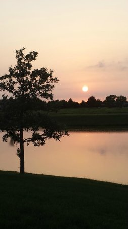Homewood Suites by Hilton @ The Waterfront: Beautiful sunset