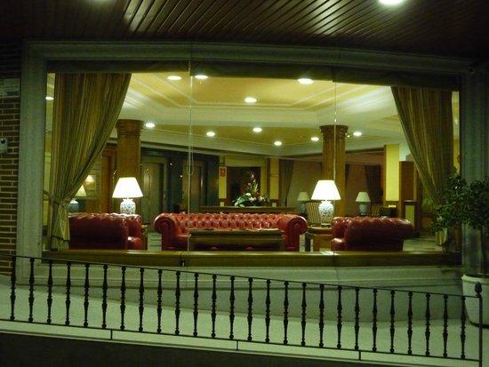 Hotel II Castillas: accueil