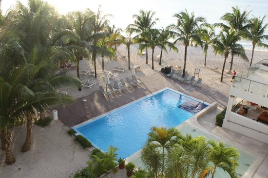 5th Avenue (Avenida 5): Pool view and ocean view room