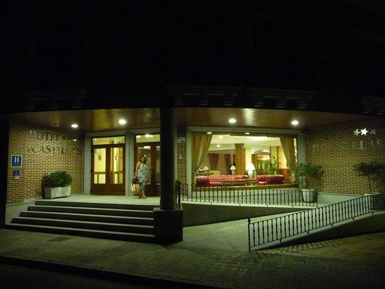 Hotel II Castillas: la façade