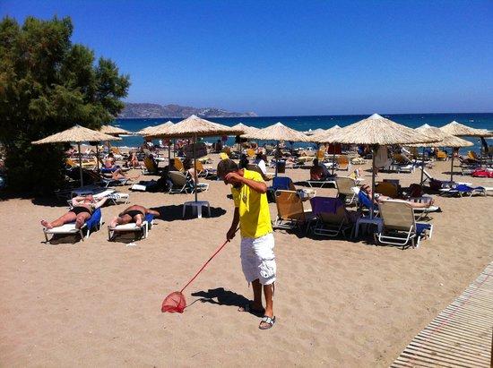 smartline Neptuno Beach : Stranden och Daniel