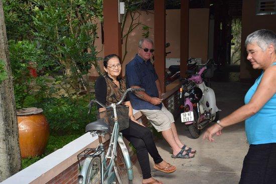 Gite Nam Hien: La souriante et chaleureuse maîtresse de maison