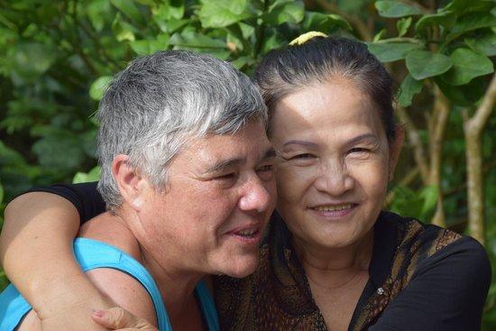 Gite Nam Hien: La sympathique  maîtresse de maison