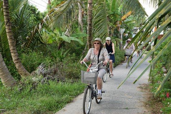 Gite Nam Hien: La ballade en vélo