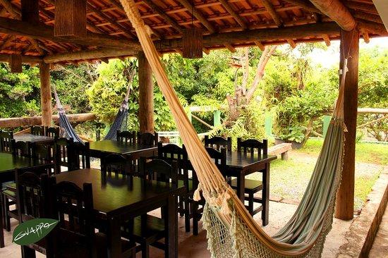 Guappo Chacara Hostel: Rancho