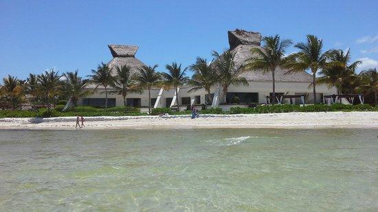 BlueBay Grand Esmeralda: Steakhouse and beach.