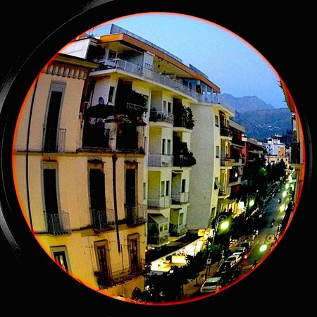 Hotel Sorrento City: View from hotel roof terrace