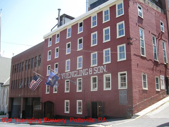 D.G. Yuengling and Son Brewery: Yuengling Brewery, Pottsville, PA