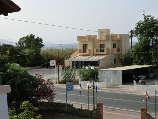 Pardalakis Studios: mini market across the road
