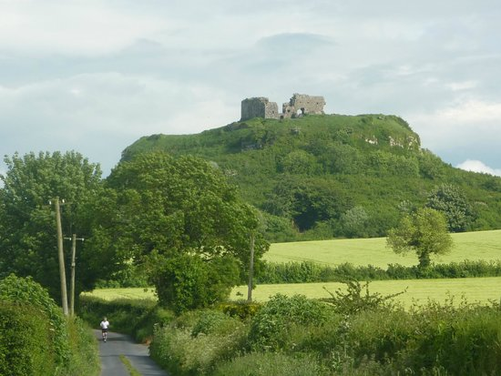 Rock of Dunamase From The Approach Road
