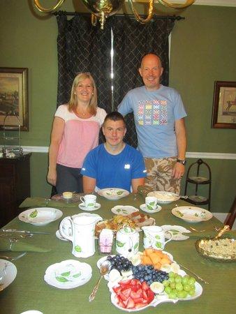 Sidwell Friends Bed and Breakfast : Breakfast