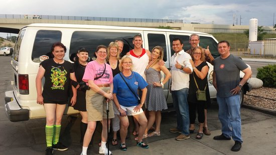 Denver Brews Cruise: Our fun group, no one knew each other before this cruise!