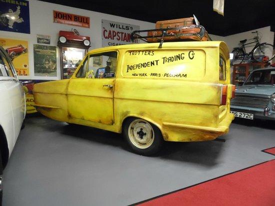 Bo'ness Motor Museum: Reliant van