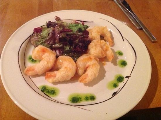 Beresford Hotel: restaurant - Prawns tempura