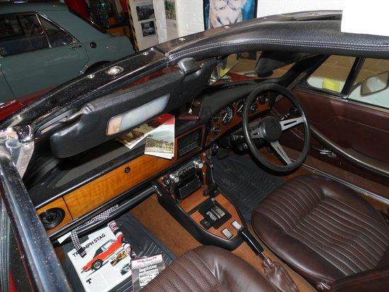 Bo'ness Motor Museum: Triumph Stag