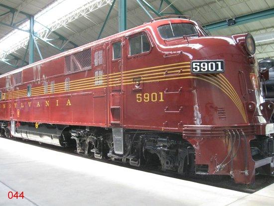 Railroad Museum of Pennsylvania: Evocative Diesel Loco