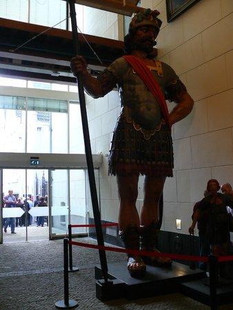 Amsterdam Museum: Механические Давид и Голиаф