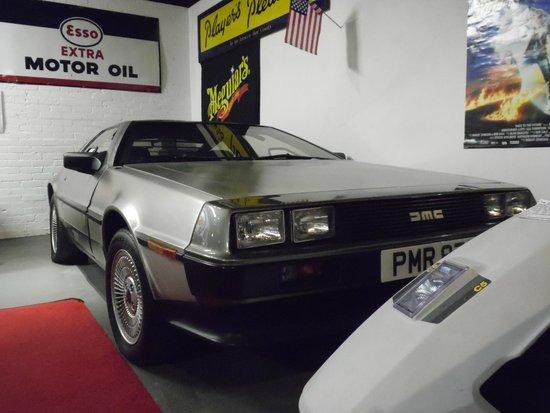 Bo'ness Motor Museum: Delorian